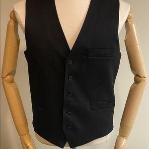 NWT International Concepts Men's Black Suit Vest M